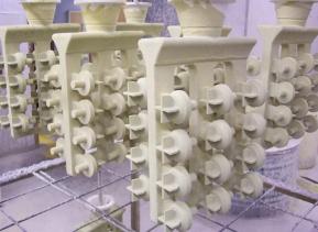 Ceramic mold casting process and advantages