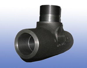 Iron Casting Hydraulic Cylinder Parts in Chinese Foundry